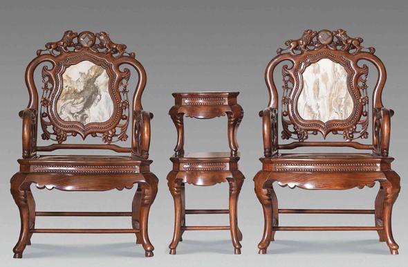 巴洛克洛可可红木家具
