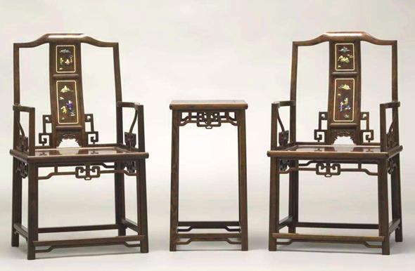 百宝镶嵌红木家具
